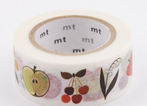 Masking tape Alain Grée - plantes - Blanc Bohème