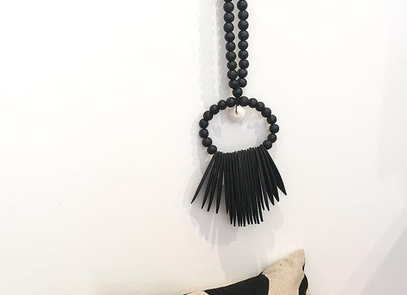 Collier balinais noir