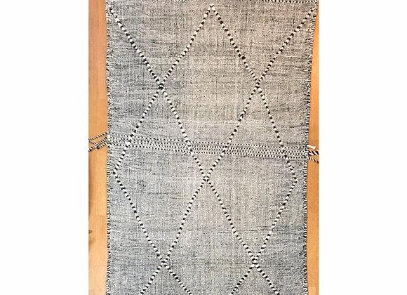 Tapis Zanafi noir  231x141 cm