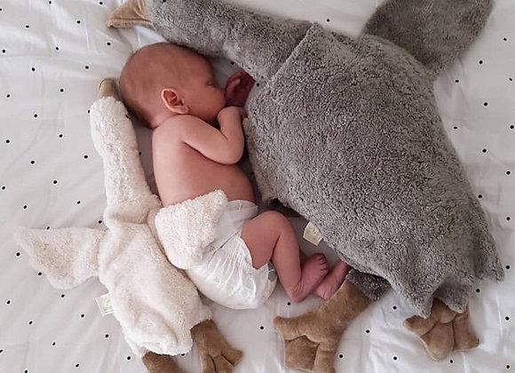 Doudou  big Cuddle grey - Blanc Bohème