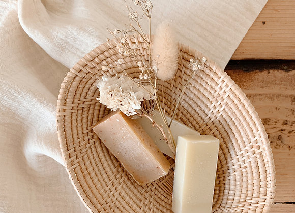 Mini corbeille rotin - Sélection Blanc Bohème