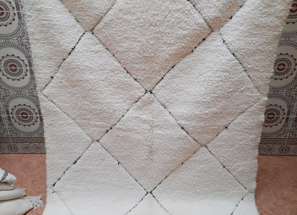 Tapis Berbère laine claire