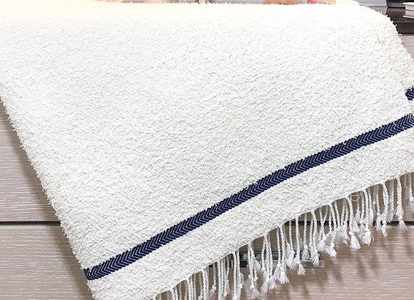Drap de bain  ligne Bleu marine