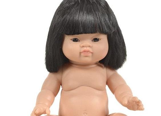 Poupée Paola Reina Filla Asiatique cheveux noirs