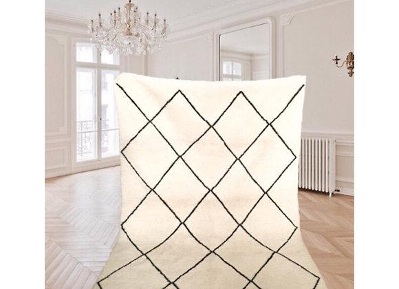 Tapis Béni Ouarain 198 x 150 cm