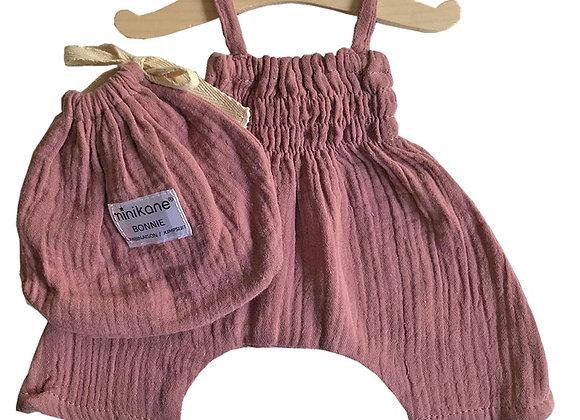Combinaison rose Minikane pour poupée Paola Reina