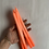 Thumbnail: 5  Bougies Fines Tie & Dye Jaune, Orange ou Rose