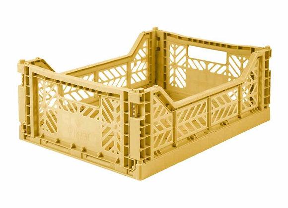 Caisse pliable AYkasa Midi gold - Blanc Bohème