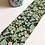 Masking tape Fleurs, vertes - Blanc Bohème