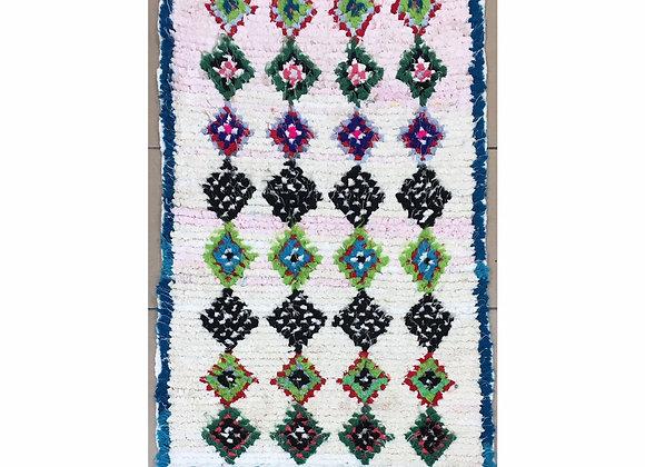 Tapis artisanal marocain