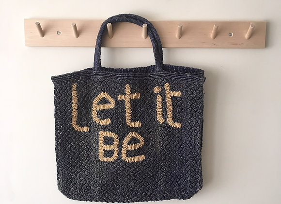"Sac en Jute ""Let it be"""