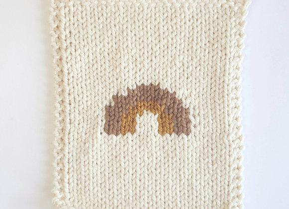 Couverture en laine pour poupée