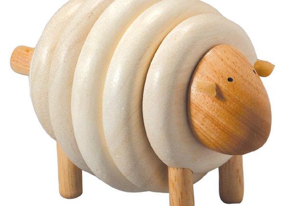 Mouton à créer - jeu en bois - Blanc Bohème