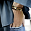 Bracelet tendance léopard - Blanc bohème