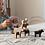 Thumbnail: Tapis de jeu et  Animaux de la ferme en bois