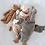 Grande oie Senger grise - Blanc bohème