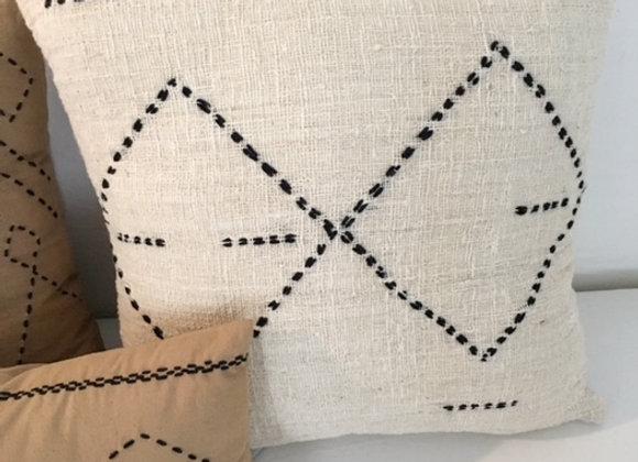 Housse de coussin tissé à la main en coton, Berbère Home