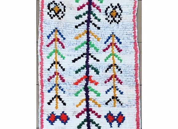 Petit tapis coloré - Blanc Bohème