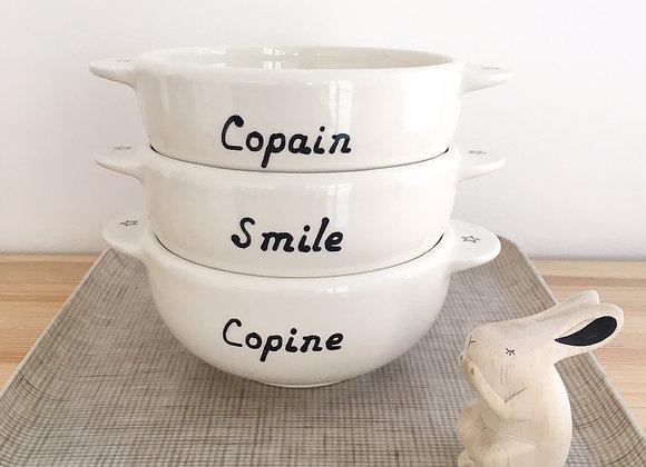 Bol Breton: Copine, Copain, Smile