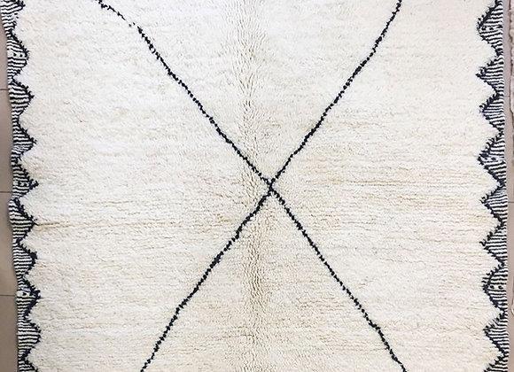 Tapis Béni Ouarain   182x148 cm