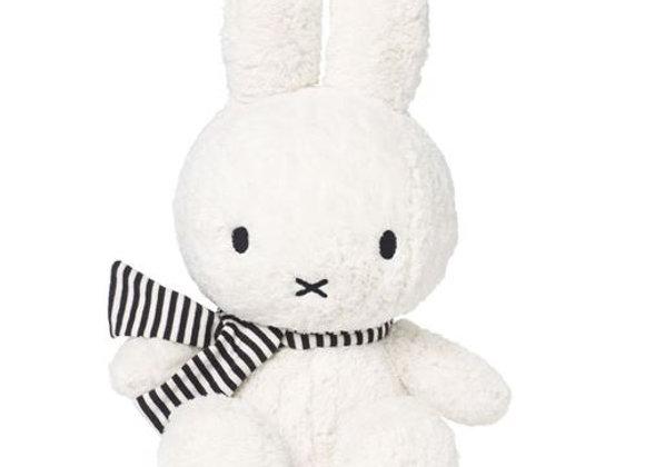 Lapin MIFFY et son écharpe rayée, 23 cm