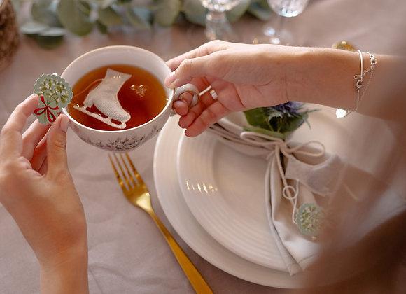 Thé en sachet patin à glace