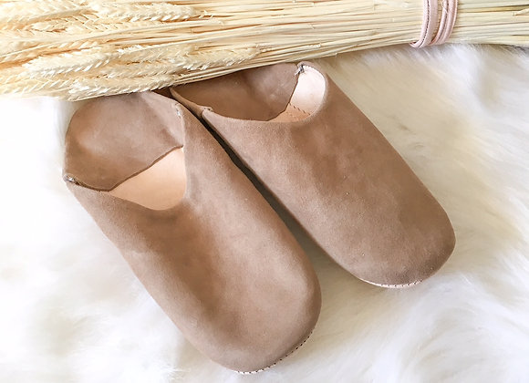 Babouches Beige Sable