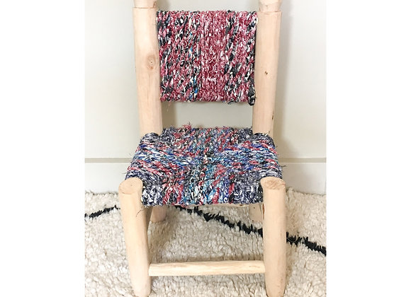Mini chaise Boucherouite