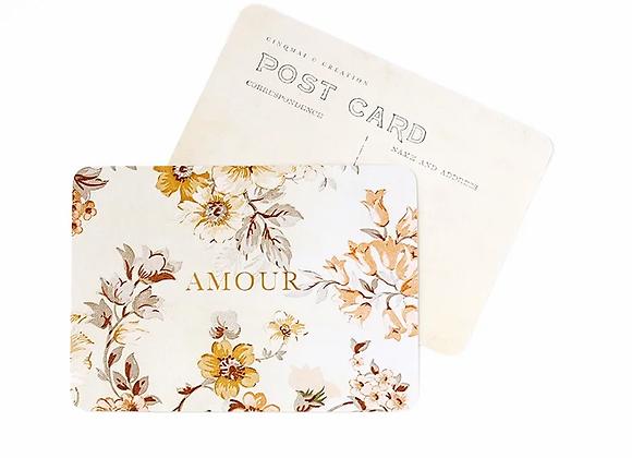 Carte Postale Amour Vintage par Cinq Mai