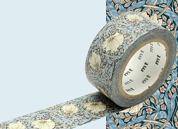Masking tape William Morris Pimpernel - Blanc Bohème