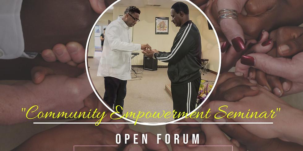 Community Empowerment Seminar