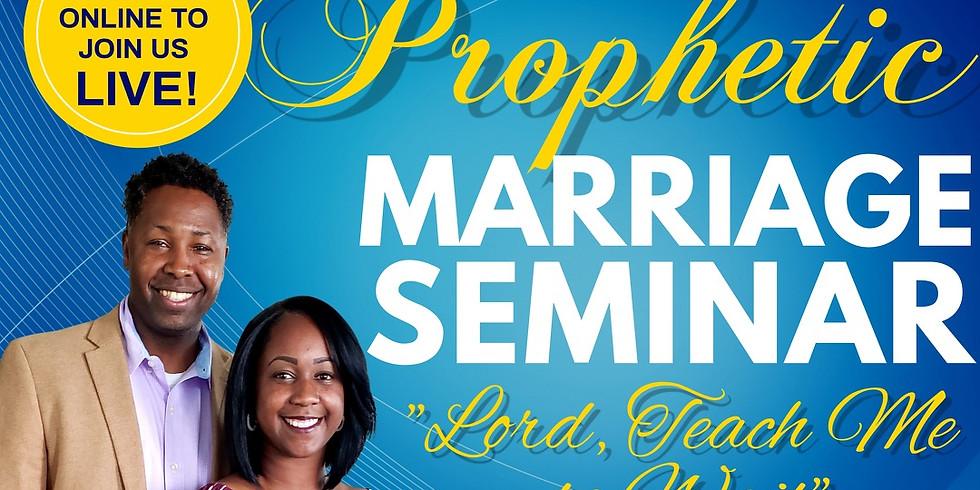 Virtual Prophetic Marriage Seminar