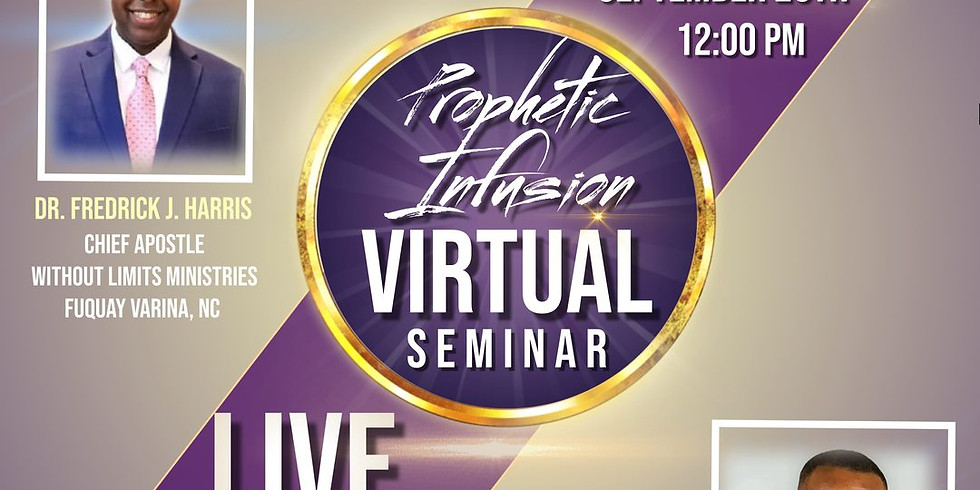 Virtual Prophetic Infusion Seminar part 4