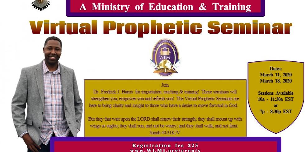 (A.M.) Prophetic Webinar