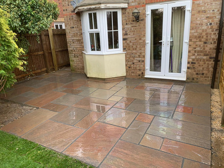paving - after
