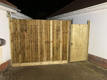 Fence - after