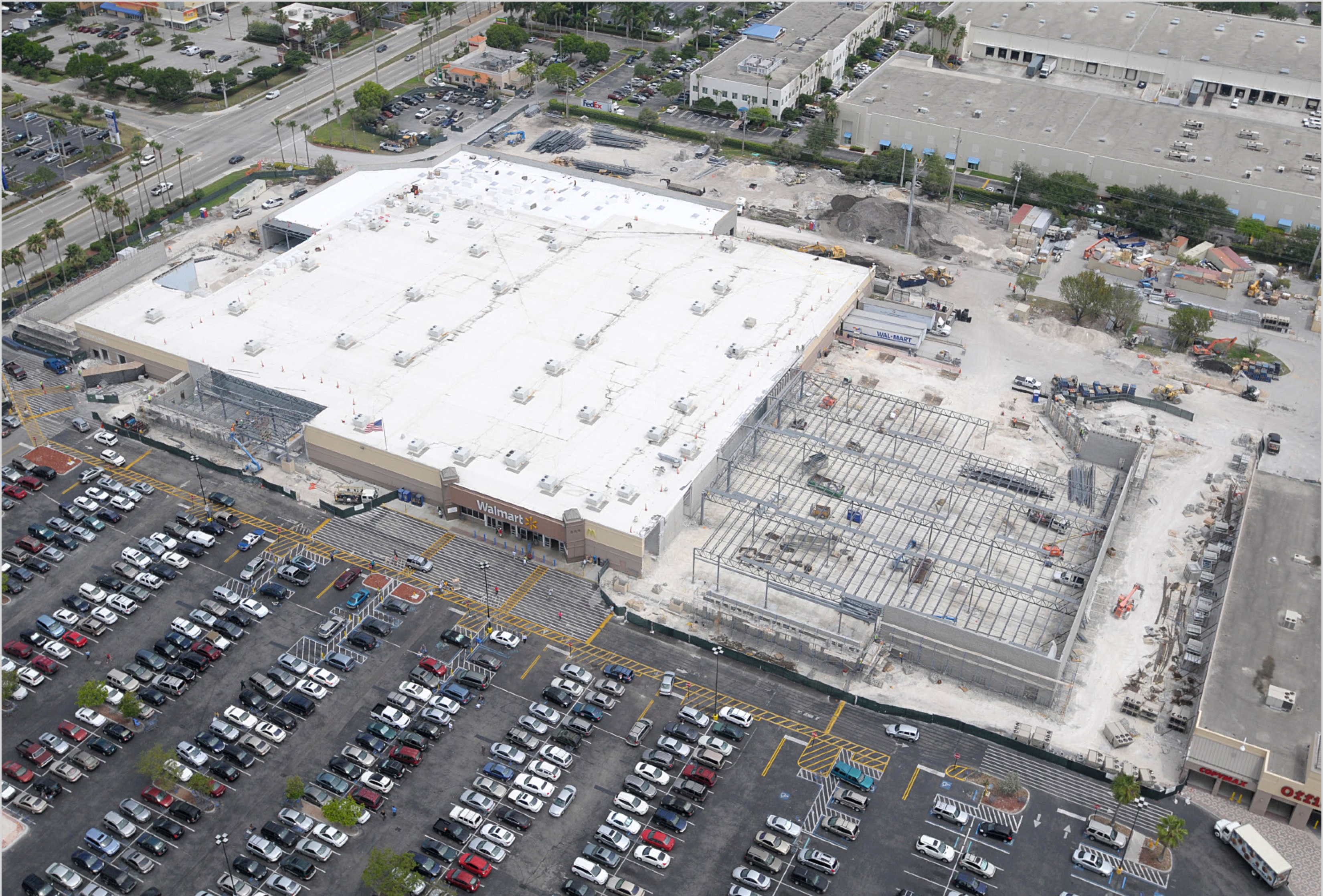 Walmart Expansion Doral