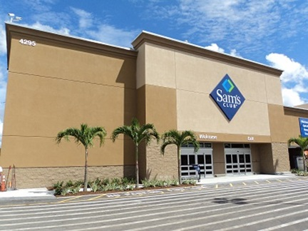 Sam's Club Remodel West Palm Beach