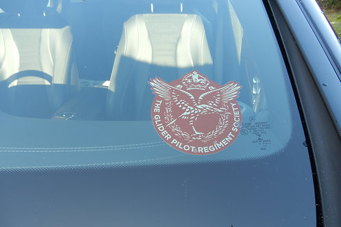GPRS Windscreen Sticker