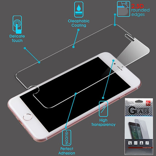 Tempered Glass iPhone 6+ / 6s+ / 7+ / 8+