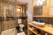 Ensuite bathroom Carpathian Log Home