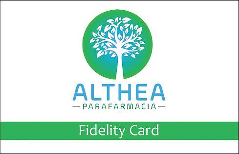 fidelity card althea