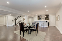 Shulton Painting Inc. Basement interior painting and drywall installation in Mclean Virginia, Vienna