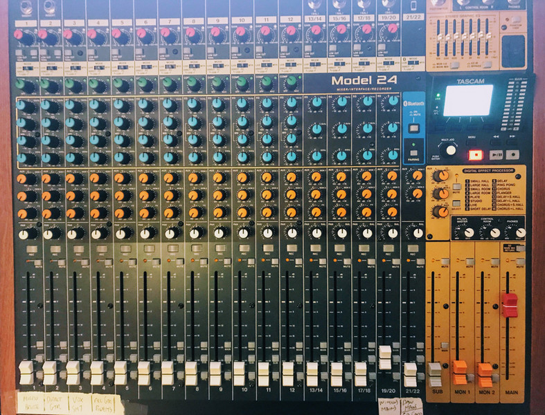 Tascam Model 24 Mixing Board