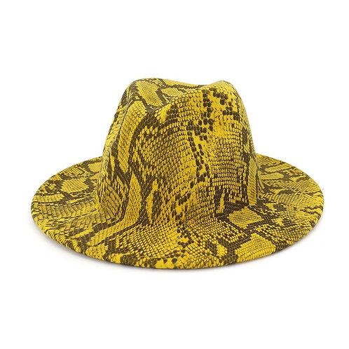 Animal Print Fedora Hats