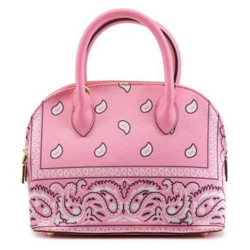 Pink Bandanna Bag