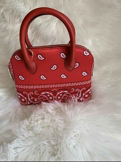 Red Bandanna Bag