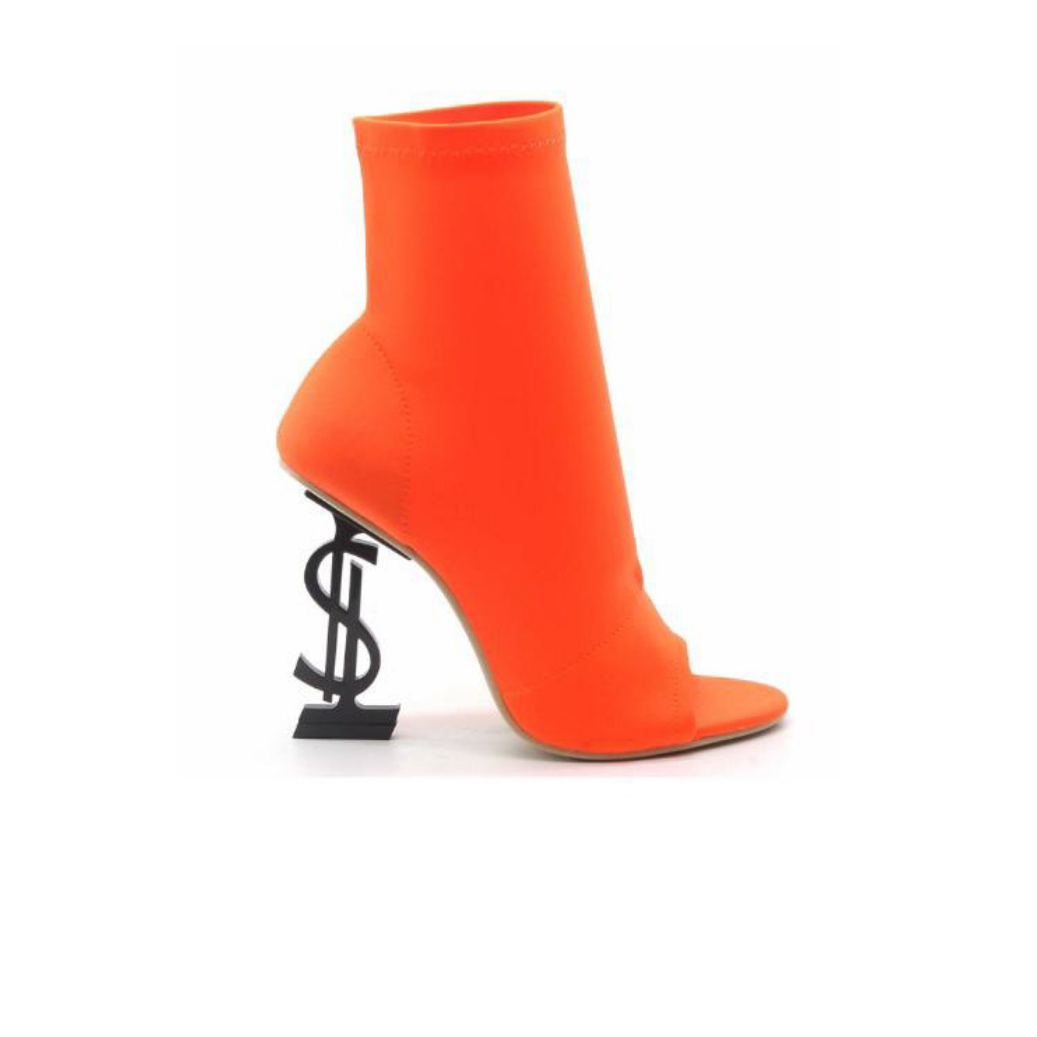 37db46b00 Money Booties-Orange | Shoe Addicts