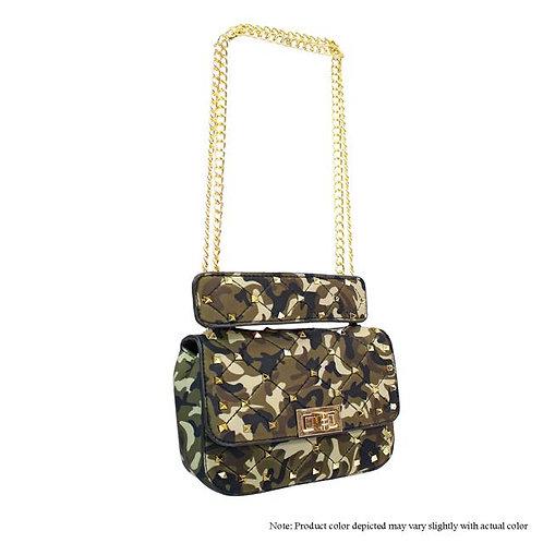 Green Camo Handbag