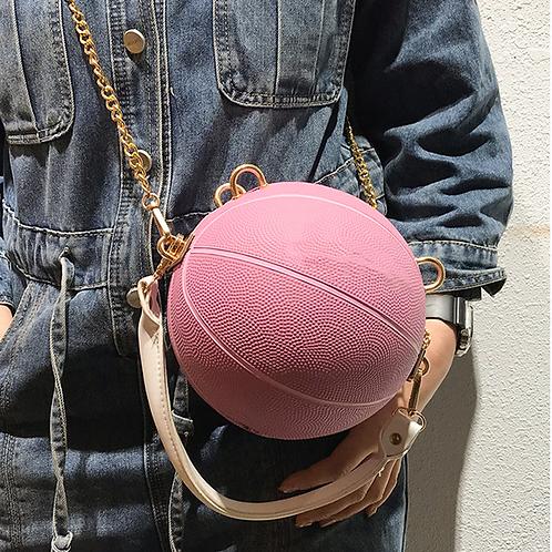 Pink Mini Ball Purse